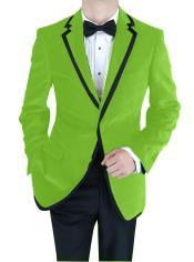GNF-649 Velvet Velour Blazer Online Sale Formal formal tux