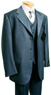 Fashion three piece suit in