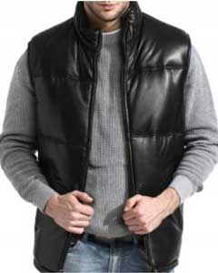 PN_V65 A Classic Padded Bubble Vest In An A-GRADE