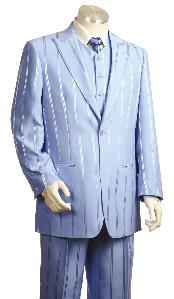 Fashionable 3 Piece Vested
