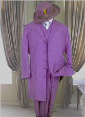LVR2112 Classic Long Lavender Fashion Long length Zoot Suit