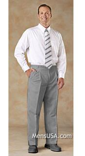 N4SP Pleated Slacks Pants / Slacks Plus White Shirt