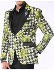 Mens Sportcoat Hounds Flower