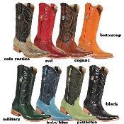 KA6634 3X-Toe Lizard Teju Western Cowboy Boots New Reg:
