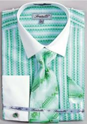Light Green Dress Shirt Fratello