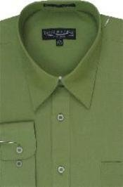 lime mint Dress Shirt