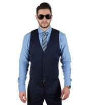 FashionableMatching5ButtonVest+PleatedSlacksOr