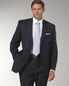 Navy Glen Plaid affordable suit Online Sale