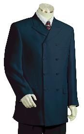 KZ7120 High Fashion Navy Long length Zoot Suit For