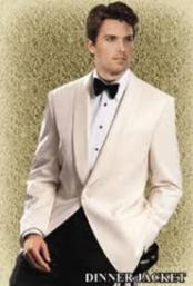 MA66 Reg : $495 Giorgio Off-White Dinner Jacket On