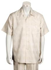 Leisure Walking Suit Short Sleeve