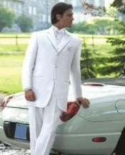 White Tuxedo Dress Suits