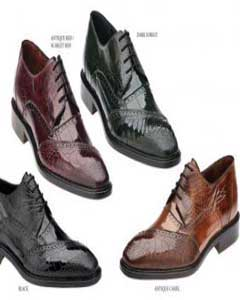 TA-52 Genuine Eel / Ostrich Leg Shoes for Online