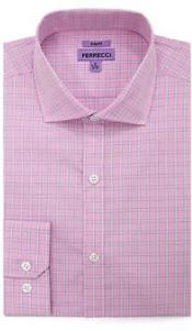 Ferrecci Pocket Button Down Checkered