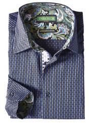 Style2613-126 Inserch Brand Brand Purple color shade Broken Stripe
