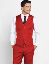 Mens Groomsmen Attire Outfit Vest