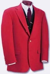 red color shade suit