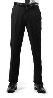 RM1117 Premium Regular Fit Flat Front Dress Pants Liquid