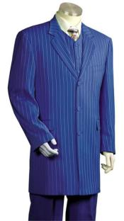 JSM-4857 Mens Royal Blue Suit For Men Perfect