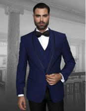 JSM-875 Mens Fashion Tux by STATEMENT Sapphire