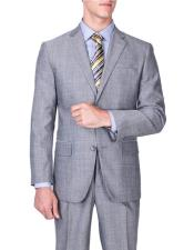 JSM-6504 Mens Sharkskin Wool Single Breasted Authentic Giorgio Fiorelli