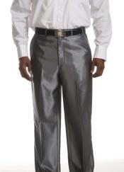 UX-673 Flat Front Dress Pants Flat Front Trousers -