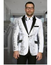 MensUniqueShinyFashionPromSequin1ButtonNotch