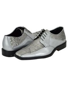 Silver Dress Shoes for