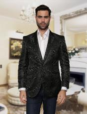 Black Blazer Sport coat Jacket