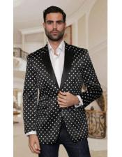 Mens-Single-Breasted-Black-Blazer