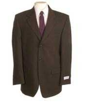 YSD209 New Chocolate brown color shade Single Breasted Discount