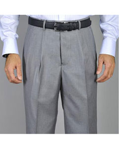 KA4567 Light Grey Single Pleat Pants
