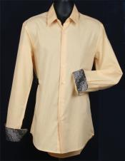KA6821 Fancy Slim narrow Style Fit Dress Shirt -