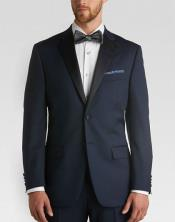 MK819 Satin Lapel classic Slim narrow Style Fit Tuxedo