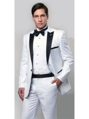 RA96 Slim narrow Style Fit 1920s tuxedo style with