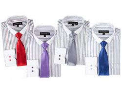 Striped Dress Shirt For