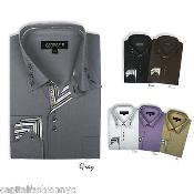 Classic Stylish Dress Shirt Multi-Color
