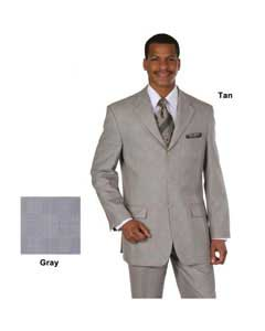 EG-3923 Superior Fabric 120s Luxurious Wool Fabric Feel Suit
