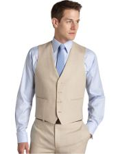 5 button grey vest with