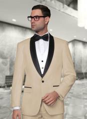 SM4940 Statement Mens 3 Piece Modern Fit Shawl Collar