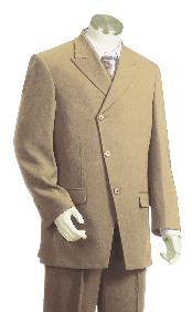 Luxurious 3 Piece Vested Taupe