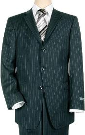 Navy Blue Shade Pinstripe 3