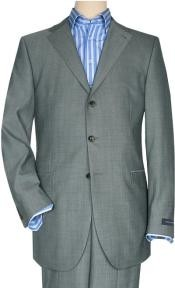 ML320 Mid Gray Business Suit Superior Fabric 150 Wool