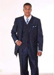 ET62 3 Piece 3 Button Style Fashion Suit with