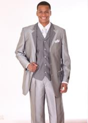 KQ59 3 Piece 3 Button Style Fashion Suit with