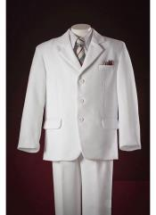 Product# KA9064 White Notch Lapel Pocket