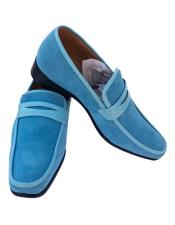 JSM-5338 Mens Blue ~ Turquoise ~ Baby ~ Light