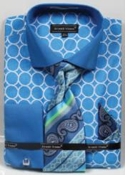 Avanti Uomo Printed Pattern French