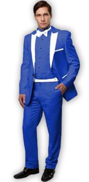 Slim Tux Royal Blue with