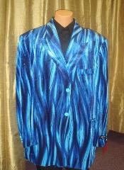 BB54 Flame Jacket/Blazer Online Sale in Blue